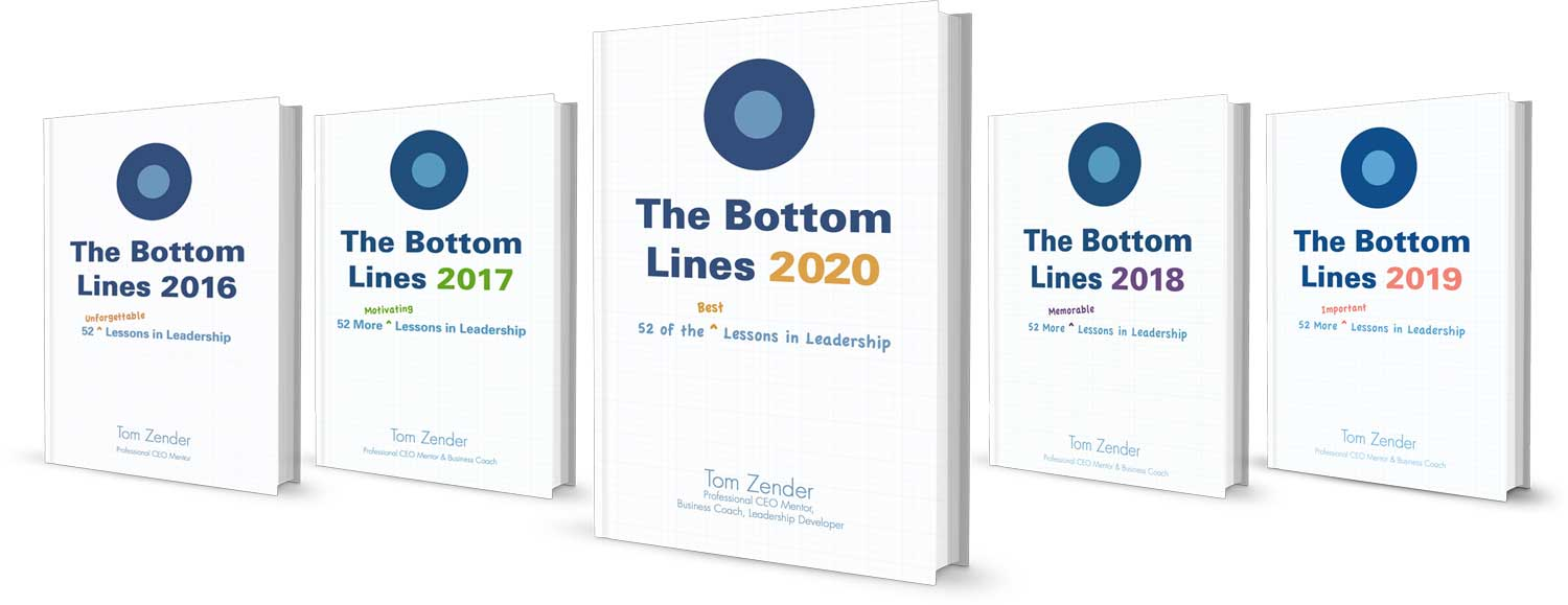 The Bottom Lines Series of Books